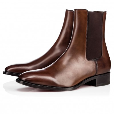 boots louboutin homme
