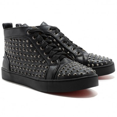 chaussure haute homme louboutin