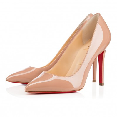 chaussure louboutin beige