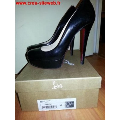 chaussure louboutin en occasion