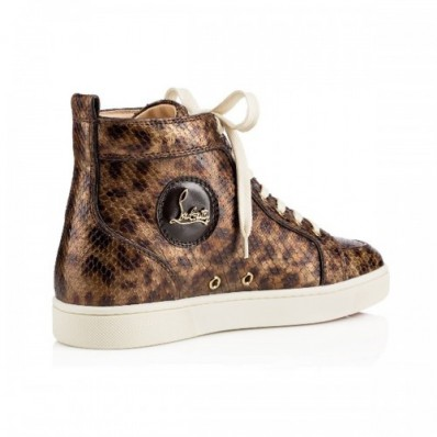 chaussure louboutin homme leopard