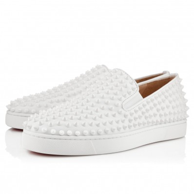 christian louboutin homme blanche