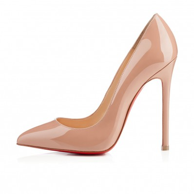 christian louboutin pigalle 120 spiked black pumps