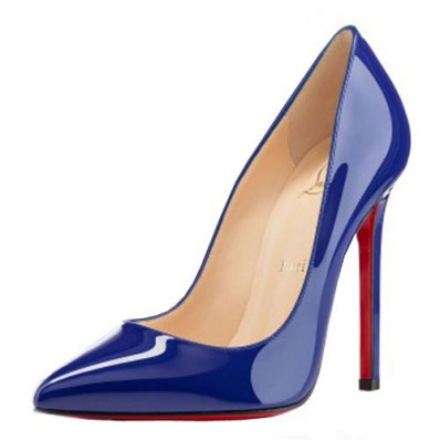 christian louboutin pigalle blue