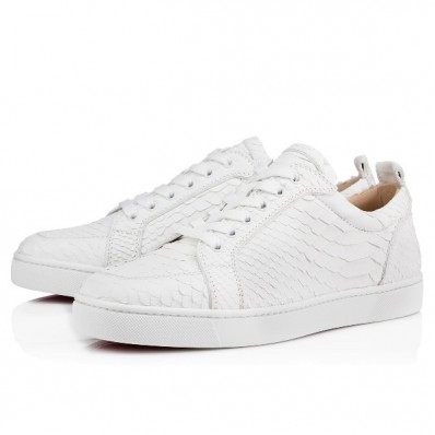 louboutin blanche homme pas cher
