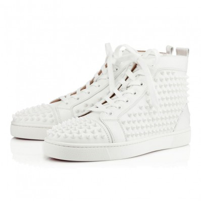 louboutin blanche occasion