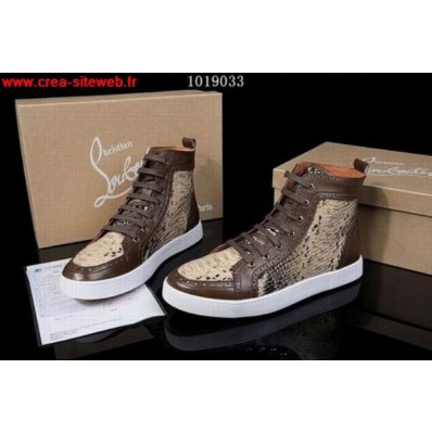 louboutin homme occasion