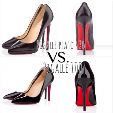 louboutin pigalle 100 or 120