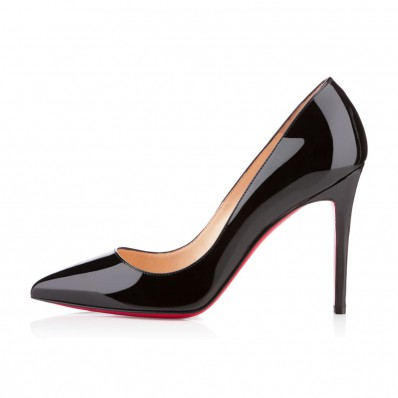 louboutin pigalle 100mm black patent