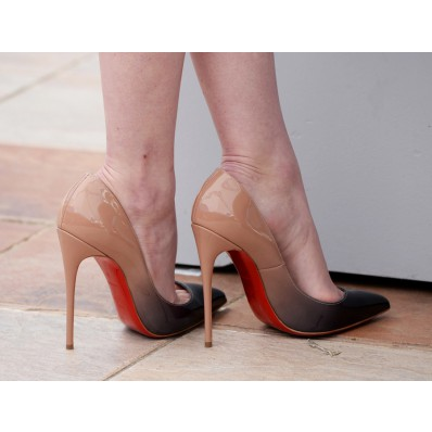 louboutin pigalle bicolore