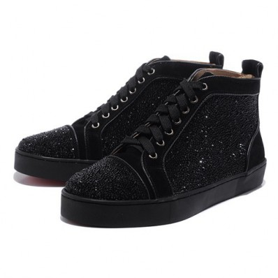 louboutin strass homme
