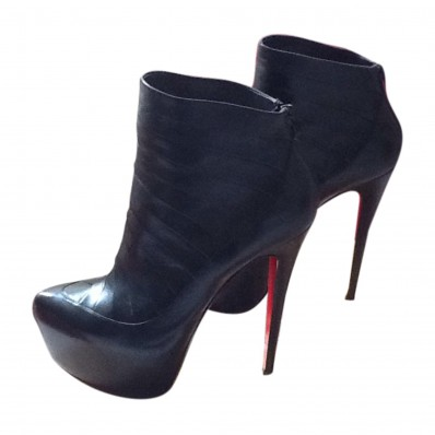 low boots louboutin