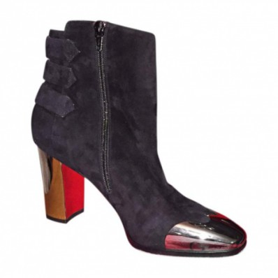 low boots louboutin pas cher
