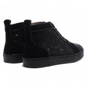 chaussures louboutin noir homme