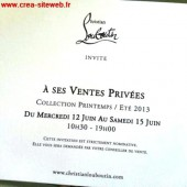 invitation vente privee louboutin 2015