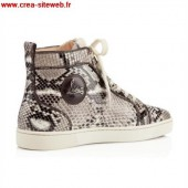 louboutin homme serpent