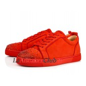 sneakers louboutin homme rouge