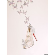 louboutin chaussure cendrillon