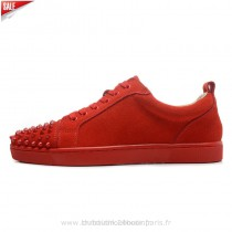 louboutin homme rouge