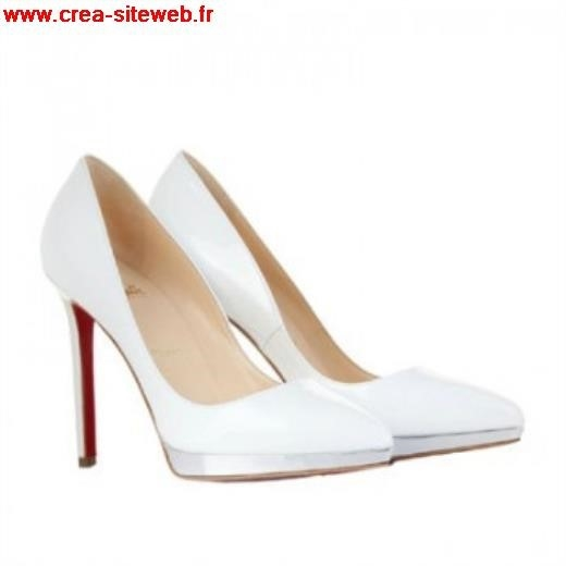 chaussures louboutin blanches