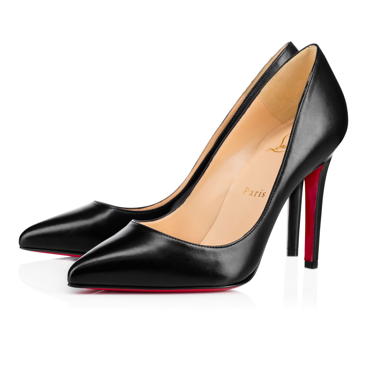 christian louboutin pigalle black 100