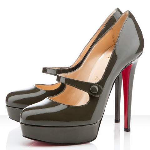 christian louboutins mary jane pumps
