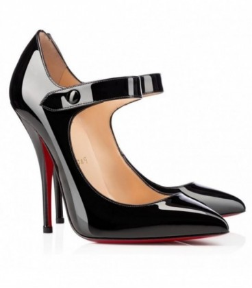 louboutin black mary jane