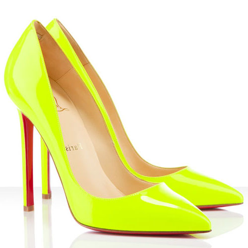 louboutin pigalle jaune