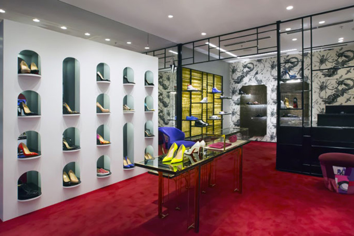 louboutin store in amsterdam